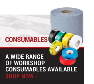 A Wide Range of Workshop Consumables Available