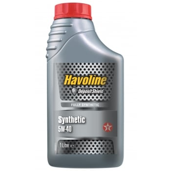 Texaco 840124NJE DISCONTINU HAVOLINE SYNTHETIC  5W40