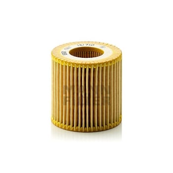 Mann Filter HU710X METAL FREE OIL FILTER ELEMENT