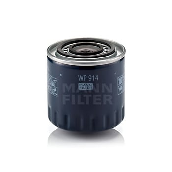 Mann Filter WP914 DUAL FLOW SPIN-ON OIL FILTER