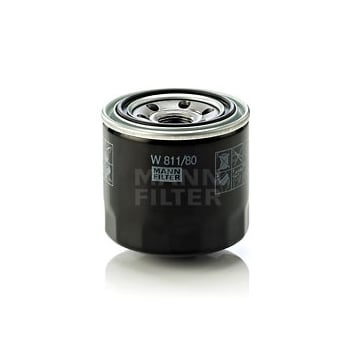 Mann Filter W811/80 OIL FILTER - SPIN ON