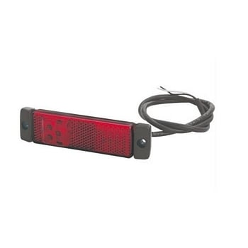TTC16149 marker lamp red 12/24v