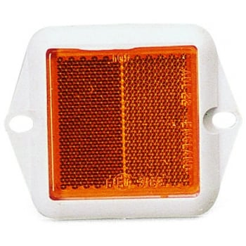 DISCONTINUED AMBER REFLECTOR