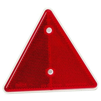 TTC226 RED TRIANGLE REFLECTOR