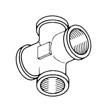 TTC71133 (1) 4WAY CROSS ADAPTOR