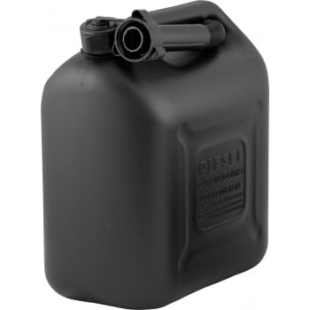 CAN110 FUEL CAN DIESEL 10L BLACK