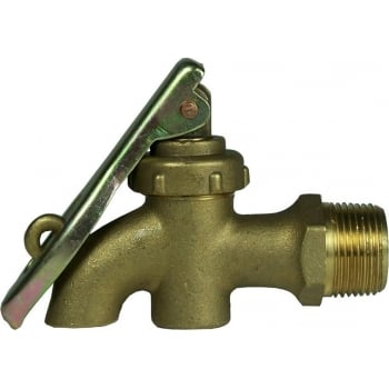 CAN23 DRUM TAP 3/4BSP SOLID BRASS LOCKABLE