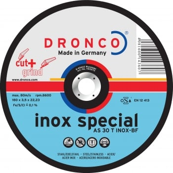 DCG1 DRONCO CUT  GRIND DISCS 115 X 2.5MM