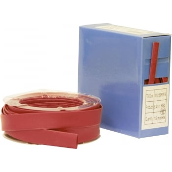 EHS13RE HEAT SHRINK TUBING 2:1 RED 3.2MM 11M