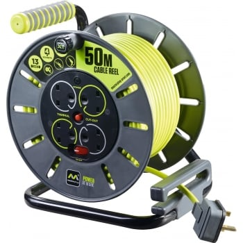 ERP50 240V CABLE REEL 50M