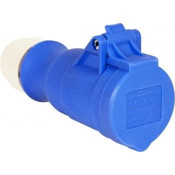 ERP84 240V 16 AMP BLUE SOCKET