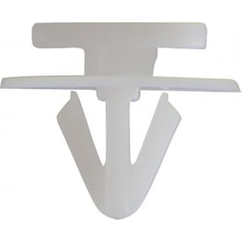 FIX230 BUMPER RETAINER CLIPS SUIT GM WHITE