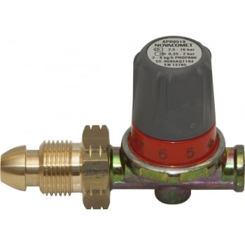 GAS3 PROPANE REGULATOR ADJ 0-2 BAR