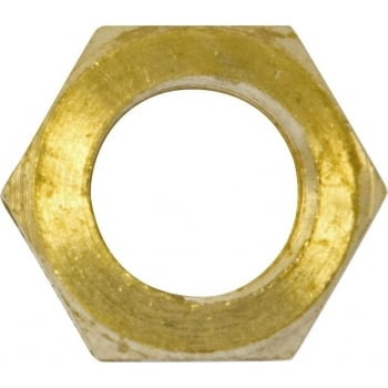 HBN6 EXHAUST M/FOLD NUTS BRASS M10 X 1.25MM