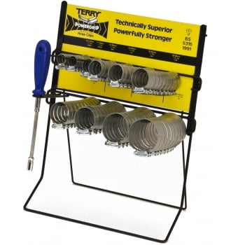 HCD100 TERRY HOSE CLIPS DISPENSER COMPLETE 1 SET