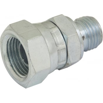 HY135 HYDRAULIC BSPP SWIVEL ADAPTOR M : F 1/4 : 3