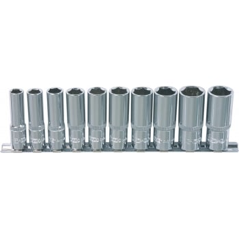 K918.0612 KS 1/2 CHROMEPLUS SOCKET SET DEEP