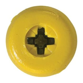 NP17/1 (1)_NUMBER PLATE SCREWS NO.10 X 18MM YELLOW