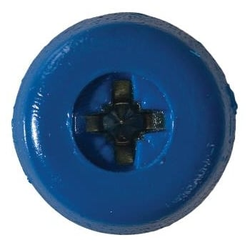 NP20/1 (1)_NUMBER PLATE SCREWS NO.10 X 18MM BLUE