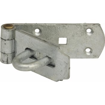 PAD7 HASP AND STAPLE GALVANISED 20CM (8)