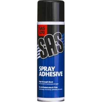 SAS470 SAS SPRAY ADHESIVE 500ML 6