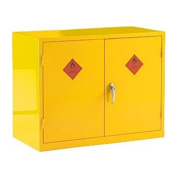 SB51 BSS HAZARDOUS CABINET 915MM 2 SHELF