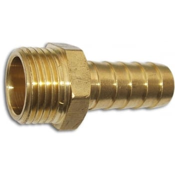 TC1012 BRASS QUICK CONNECTOR HEX MALE 3/4 BSP X 3/