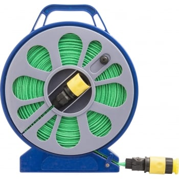 TUB60 CASSETTE HOSE REEL15M WITH FITTINGS