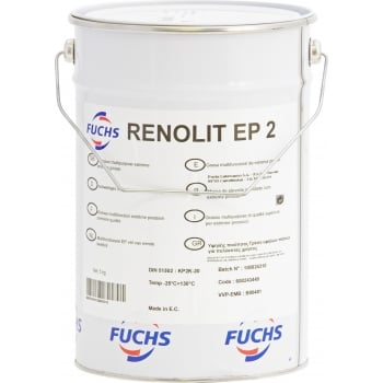 VC182 RENOLIT EP2 LITHIUM GREASE 5KG TUB