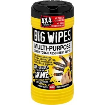 VC2010 BIG WIPES INDUSTRIAL 80 WIPES