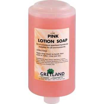 VC641 PINK LOTION SOAP 1 LTR CARTRIDGE 6
