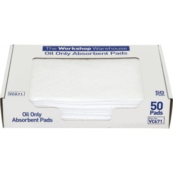 VC671 OIL ONLY ABSORBENT PADS (50) 50