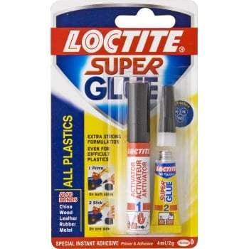 VC928 LOCTITE SUPER PLASTIX 2G/4ML KIT