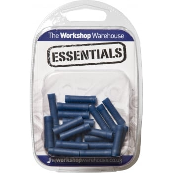 YET34 (5PACK OF 25) TERMINALS BLUE BUTT CONNECTOR