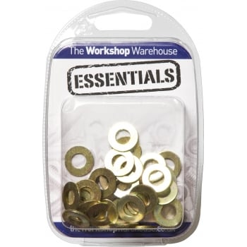 YHFW14 (5PK OF 20) FLAT WASHERS FORM A M8