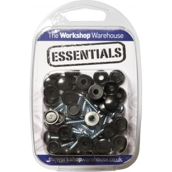 YNP6 YNP6 (5PK OF 20) NUMBER PLATE SCREWS W/HINGED CAP