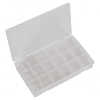 ABBOXLAR ASSORTMENT BOX WITH 12 REMOVABLE DIVIDERS