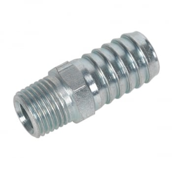 "AC40 SCREWED TAILPIECE MALE 1/4""""BSPT - 1/2"""