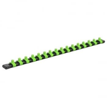 "AK27052HV SOCKET RETAINING RAIL WITH 16 CLIPS 1/4""""SQ D"