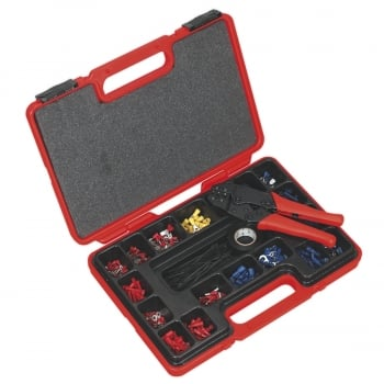 AK386 RATCHET CRIMPING TOOL KIT 552PC