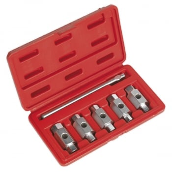 AK659 DRAIN KEY SET 6PC DOUBLE END