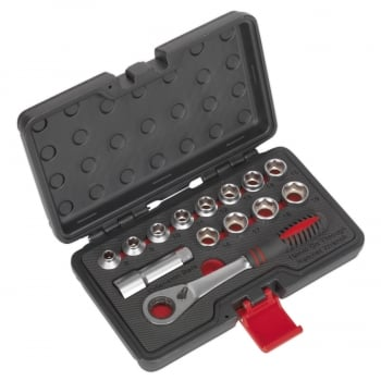 AK6926 SOCKET SET 14PC GO-THROUGH LOW PROFILE WALLDR