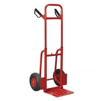CST801 SACK TRUCK WITH PNEUMATIC TYRES 200KG FOLDING