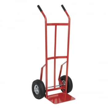 CST987 SACK TRUCK WITH PNEUMATIC TYRES 200KG CAPACIT