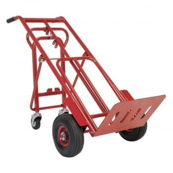 CST989 SACK TRUCK 3-IN-1 WITH PNEUMATIC TYRE 250KG C