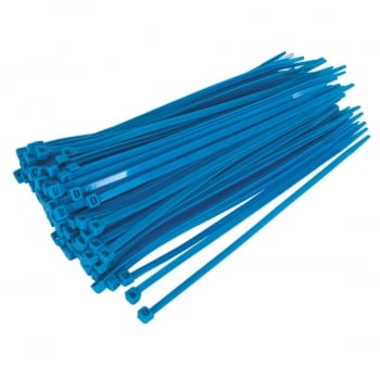 CT20048P100B CABLE TIE 200 X 4.8MM BLUE PACK OF 100