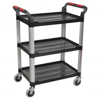 CX309 WORKSHOP TROLLEY 3-LEVEL COMPOSITE