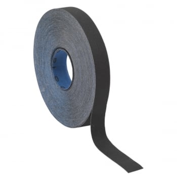 ER252580 EMERY ROLL BLUE TWILL 25MM X 25MTR 80GRIT