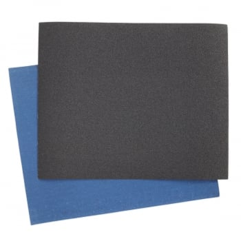 ES232880 EMERY SHEET BLUE TWILL 230 X 280MM 80GRIT PAC