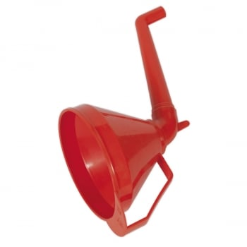 F16 FUNNEL WITH FIXED OFFSET SPOUT FILTER MEDIU